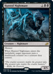 Hunted Nightmare - Foil