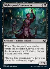 Nightsquad Commando - Foil