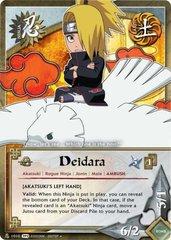 Deidara - N-1010 - Uncommon - 1st Edition