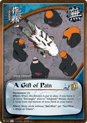 A Gift of Pain - M-747 - Uncommon - Unlimited Edition