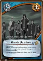 12 Shinobi Guardians - M-792 - Rare - Unlimited Edition - Foil
