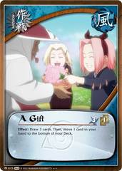 A Gift - M-815 - Rare - Unlimited Edition - Foil