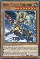 King Beast Barbaros - ETCO-EN030 - Common - 1st Edition