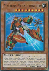 Machina Metalcruncher - ETCO-EN098 - Ultra Rare - 1st Edition