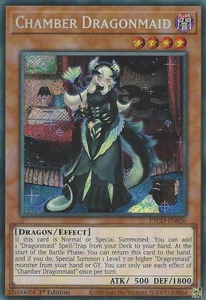 Chamber Dragonmaid - ETCO-EN026 - Starlight Rare - 1st Edition
