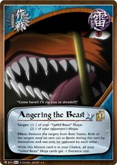 Angering the Beast - M-872 - Rare - Unlimited Edition - Foil