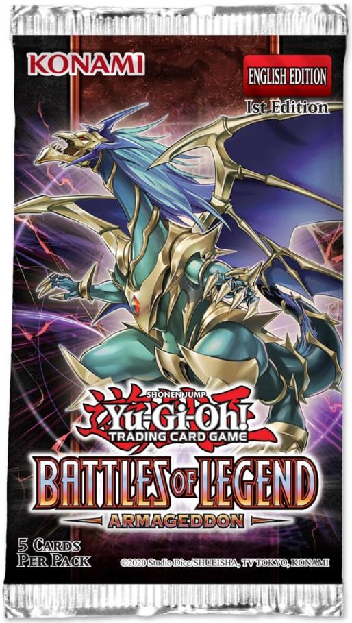 Battles of Legend: Armageddon 1st Edition Booster Pack