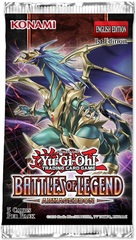 Battles of Legend: Armageddon 1st Edition Booster Pack