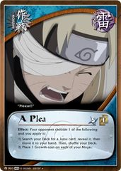 A Plea - M-901 - Uncommon - Unlimited Edition