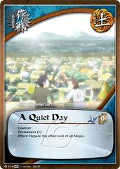 A Quiet Day - M-914 - Common - Unlimited Edition - Foil