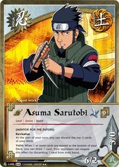 Asuma Sarutobi - N-1498 - Rare - Unlimited Edition - Foil