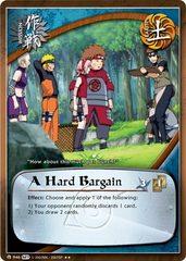 A Hard Bargain - M-946 - Rare - Unlimited Edition - Foil