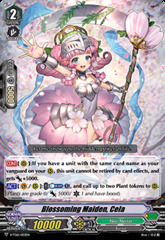 Blossoming Maiden, Cela - V-TD12/003EN - TD