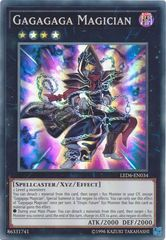 Gagagaga Magician - LED6-EN034 - Super Rare - Unlimited Edition on Channel Fireball