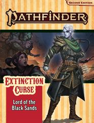 Pathfinder Second Edition - Lord of the Black Sands (Extinction Curse 5 of 6)