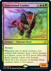 Quartzwood Crasher - Foil - Prerelease Promo