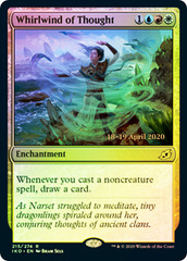 Whirlwind of Thought - Foil - Prerelease Promo