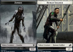 Human Token (004) // Zombie Token