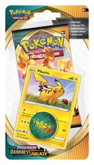 Sword & Shield - Darkness Ablaze Checklane Blister - Pikachu
