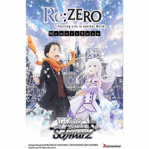Re:Zero - Starting Life In Another World - Memory Snow - Booster Pack