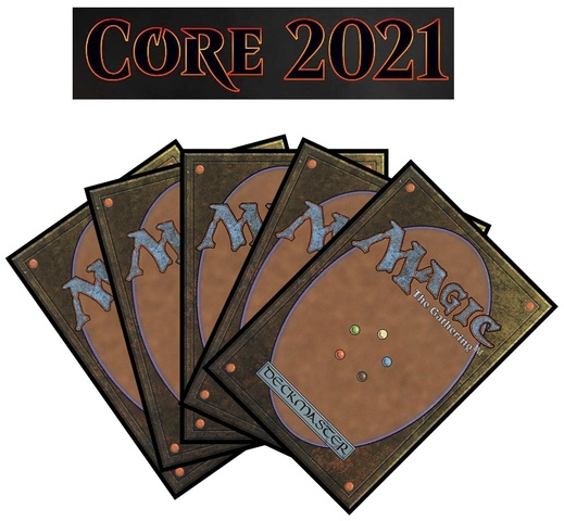 Core Set 2021 Complete Set of Commons/Uncommons x4