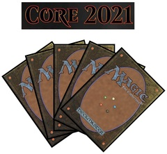 Core Set 2021 Complete Set of Commons/Uncommons x4  (Does not include Showcase, Planeswalker deck cards or Basic Lands)