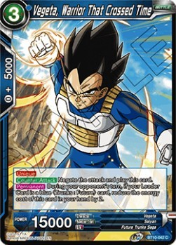 Vegeta, Warrior That Crossed Time - BT10-042 - C - Foil