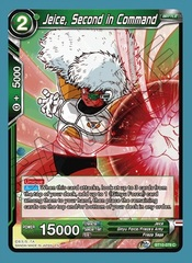 Jeice, Second in Command - BT10-079 - C - Foil