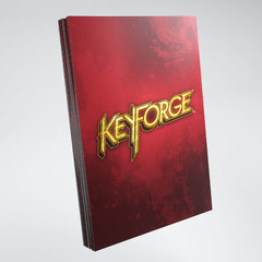 Gamegenic - Keyforge Logo Sleeve - Red