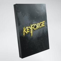 Gamegenic - KeyForge Logo Sleeves - Black