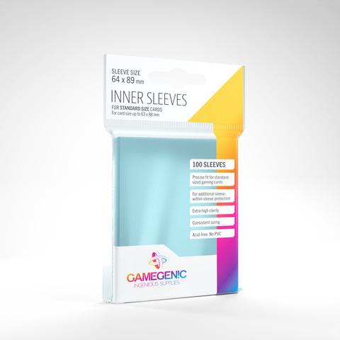 Gamegenic - Inner Sleeves - Clear
