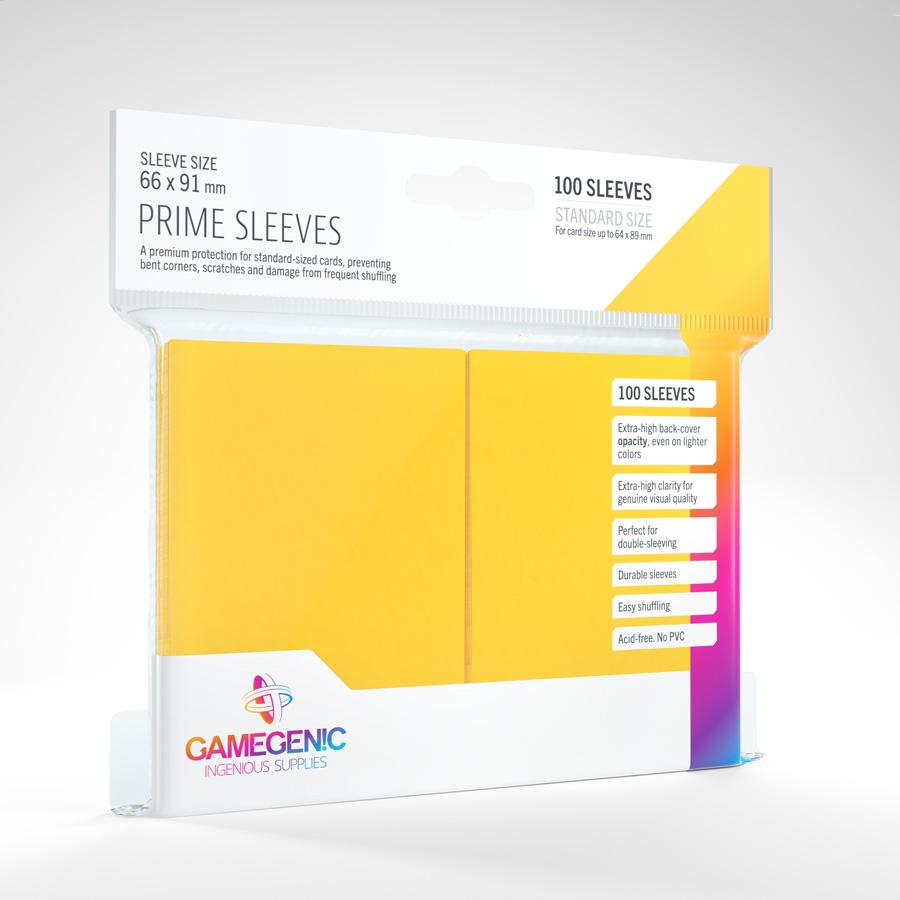 Gamegenic - Prime Sleeves - Yellow (100)