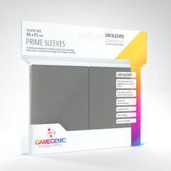 Gamegenic - Prime Sleeves - Dark gray (100)