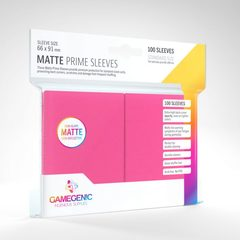 Gamegenic - Sleeves: Gamegenic Matte Prime Sleeves - Pink (100)
