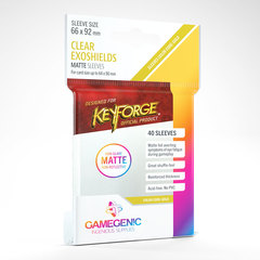 Gamegenic - Keyforge Clear Exoshields Matte