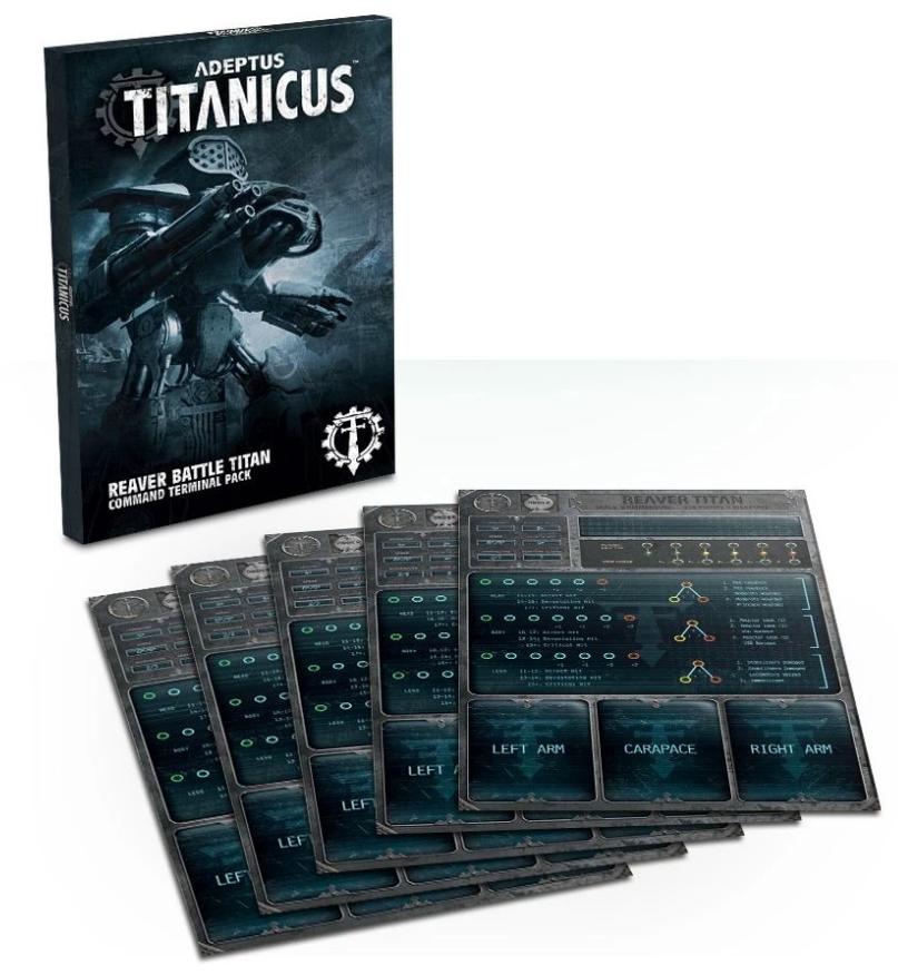 Adeptus Titanicus: Reaver Battle Titan Command Terminal Pack