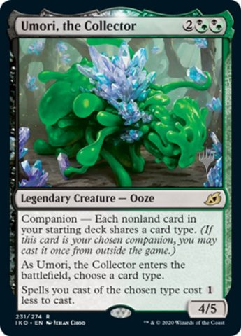 Umori, the Collector - Promo Pack