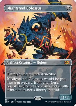 Blightsteel Colossus (Borderless)