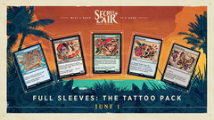 Secret Lair - Summer Super Drop - Full Sleeves: The Tattoo Pack