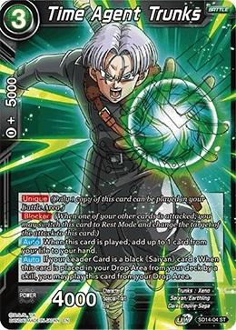 Time Agent Trunks - SD14-04 - ST - Foil