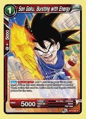 Son Goku, Bursting with Energy - BT10-007 - R