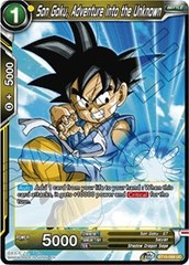 Son Goku, Adventure into the Unknown - BT10-099 - UC - Foil