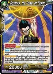 Gotenks, the Power of Fusion - BT10-112 - R - Foil