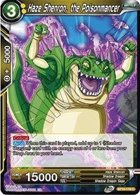 Haze Shenron, the Poisonmancer - BT10-118 - C - Foil