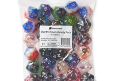 D20  Variety Pack dice- each