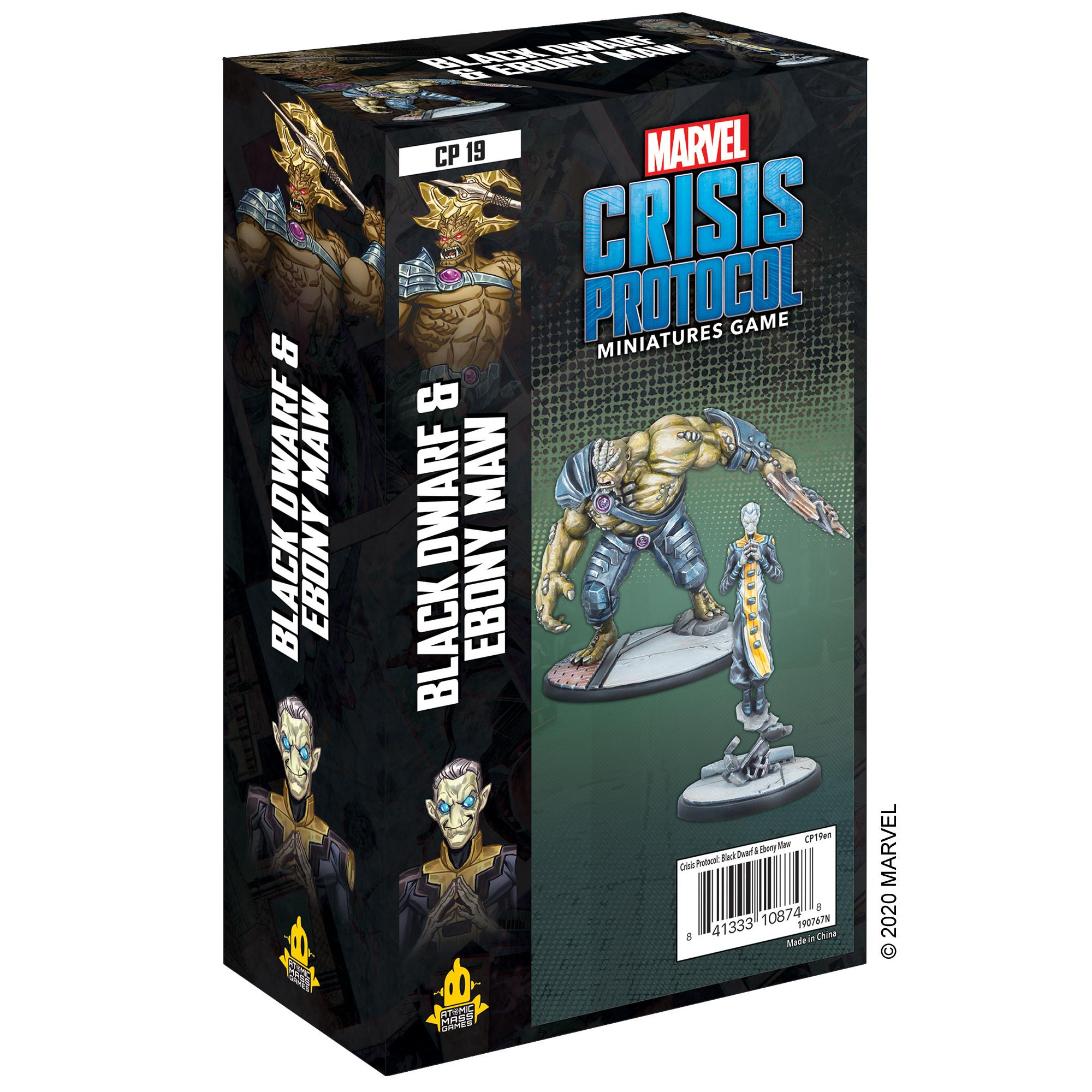 Marvel: Crisis Protocol - Black Dwarf and Ebony Maw