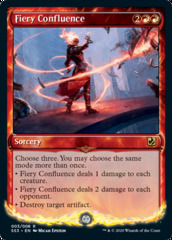 Fiery Confluence - Foil - Signature Spellbook: Chandra