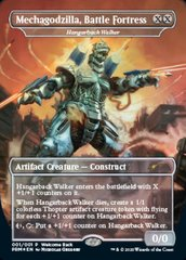Mechagodzilla, Battle Fortress - Hangarback Walker - Foil - Welcome Back Promo