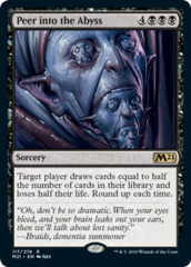 Peer into the Abyss - Foil