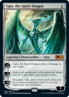 Ugin, the Spirit Dragon - Foil